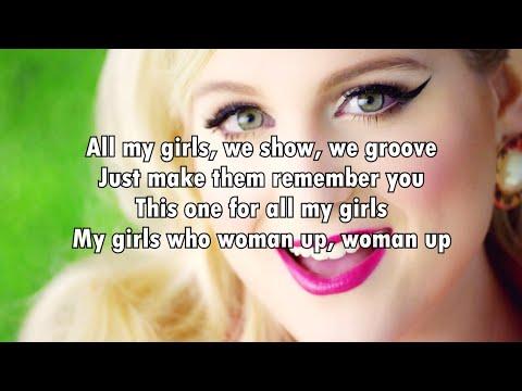 Meghan Trainor - Woman Up (Lyrics) 2016
