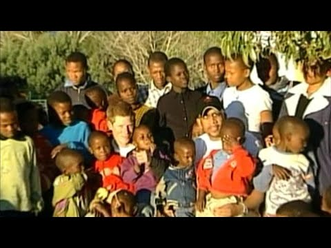 Prince Seeiso of Lesotho on his friendship, charity work with Prince Harry