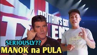 Britainand39s Got Talent Pinoy Sing Manok Na Pula