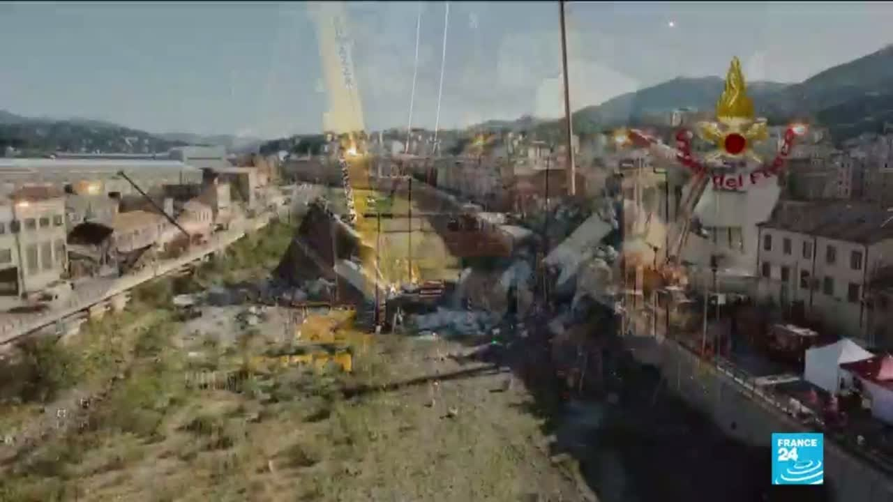 فرانس 24:Italy motorway collapse: who will pay?