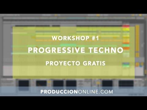 PROGRESSIVE TECHNO: Tutorial de Mezcla + PROYECTO GRATIS
