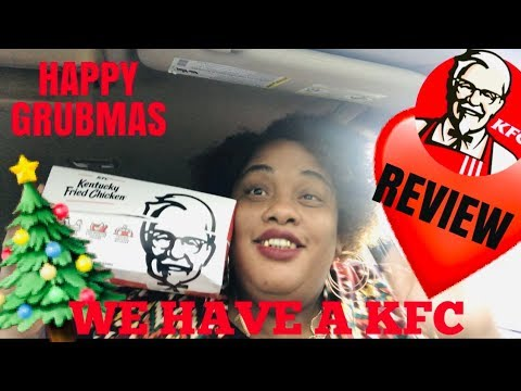 ✨YAYYYYYY✨WE GOT A KFC✨ KFC REVIEW ✨|| SOCIAL EATING | EATING SHOW