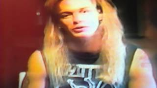 Bret Michaels Poison 1989 Music is Therapy