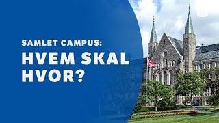 Gløshaugen om campus: hvem skal hvor?