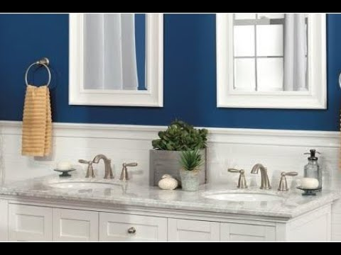 how to installing moen t6620 brantford two handle 8 inch widespread bathroom faucet trim kit
