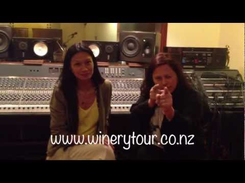 A quick message from Boh Runga and Anika Moa - The Winery Tour 2013