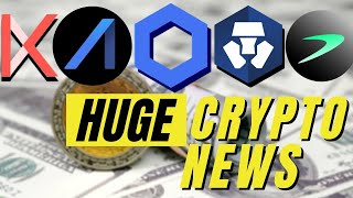 Huge Crypto News | Crypto.com, Kava, AAX, Chainlink and Tellor Oracles