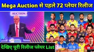 IPL 2021 - List Of 72 Released Players By All 8 Teams Before IPL 2021 Mega Auction