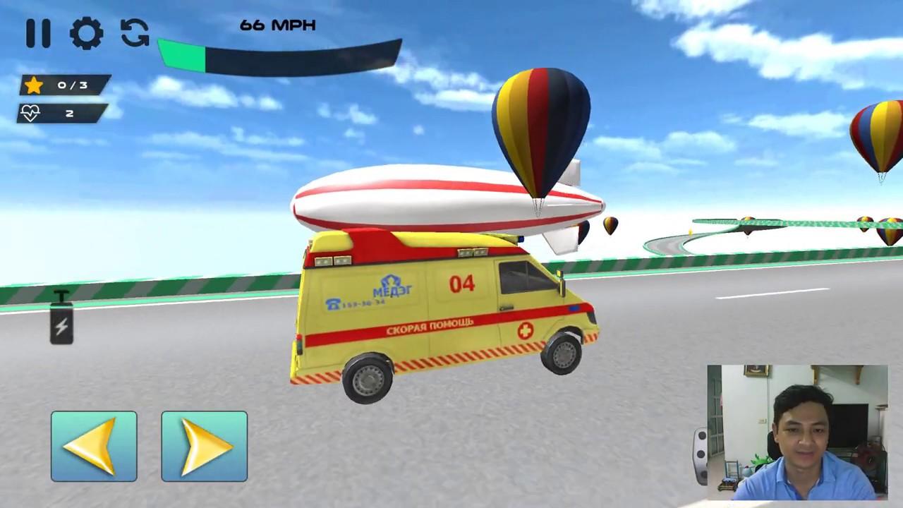 Ambulance Car Stunts 3D Mega Ramp GT Racing Games - Android Gameplay 2020