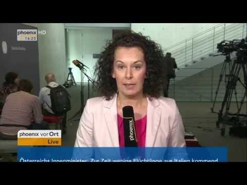 NSA-Untersuchungsausschuss: Jeanette Klag berichtet aktuell am 09.06.2016