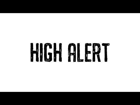 Netsky - High Alert Feat. Sara Hartman (Cover Art)