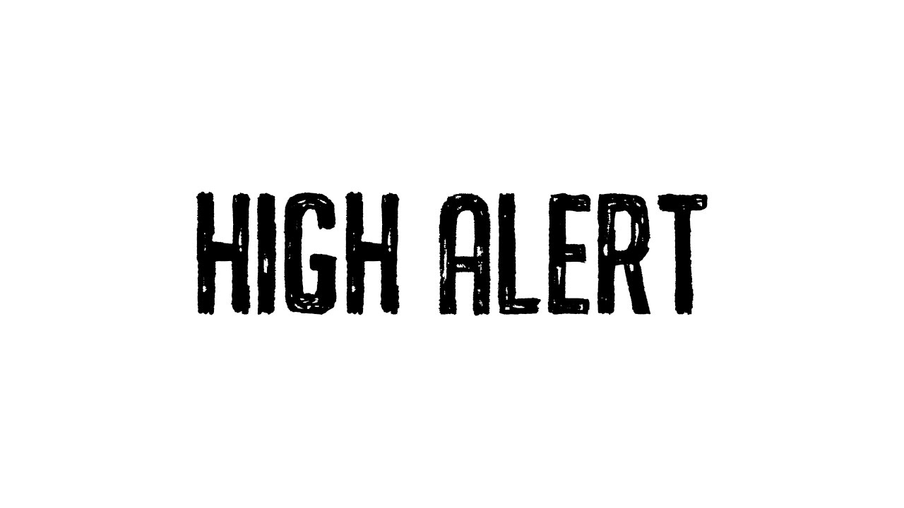 Netsky - High Alert feat. Sara Hartman (Cover Art)