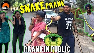 Snake Prank in Public | By The Turban Trickers | Pranks in India 2017