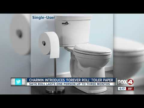Special Ed  - Charmin Has Created The Forever Toilet Paper Roll