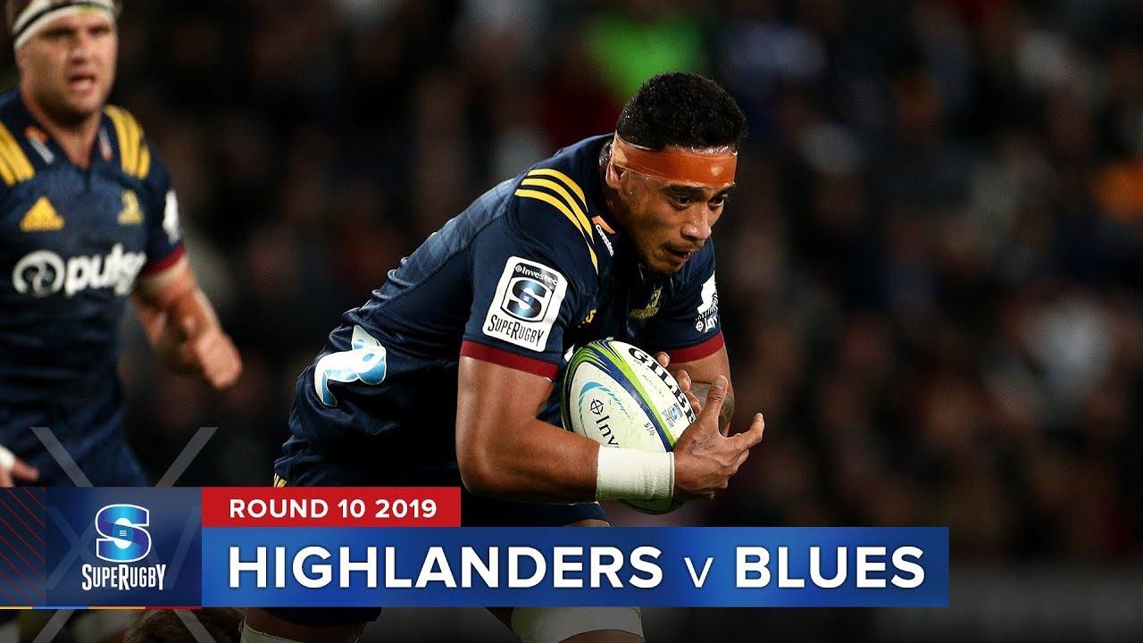 Highlanders v Blues | Super Rugby 2019 Rd 10 Highlights