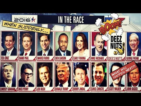 "NOT Satire: Presidential Candidate ""Deez Nuts"" Now Polling at 9%!"