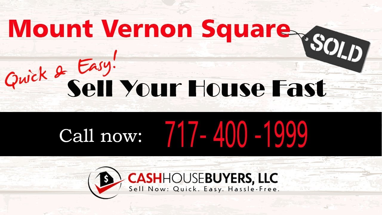 HOW IT WORKS We Buy Houses Mount Vernon Square Washington DC   CALL 717 400 1999   Sell Your House