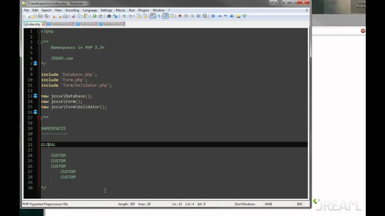 PHP Namespaces Tutorial - YouTube