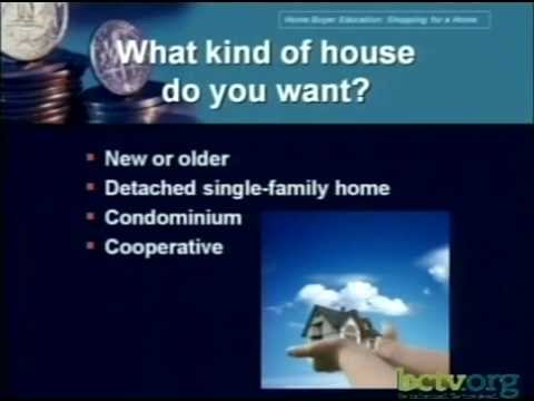 Home Buyer Education Part 3 - Shopping for a House