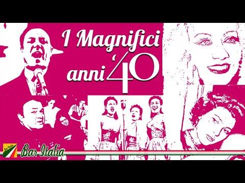 I magnifici anni 40 | 50 bellissime canzoni italiane | Best Italian Songs