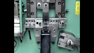 Metal Clip Punching And Forming Machine
