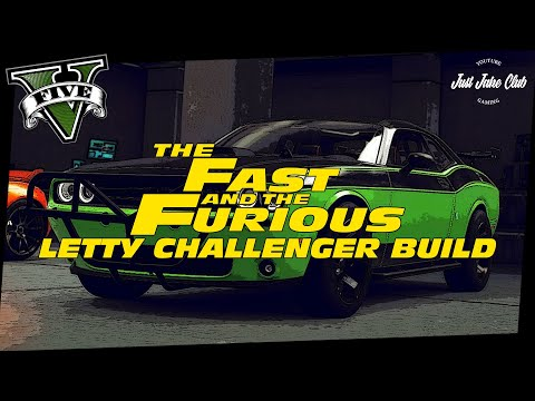 Fast & Furious 7 Dodge Challenger SRT Movie Car Build Tutorial: GTA 5 (HELLFIRE)