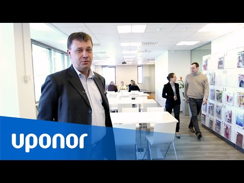 Uponor's new Head Office in Vantaa, Finland