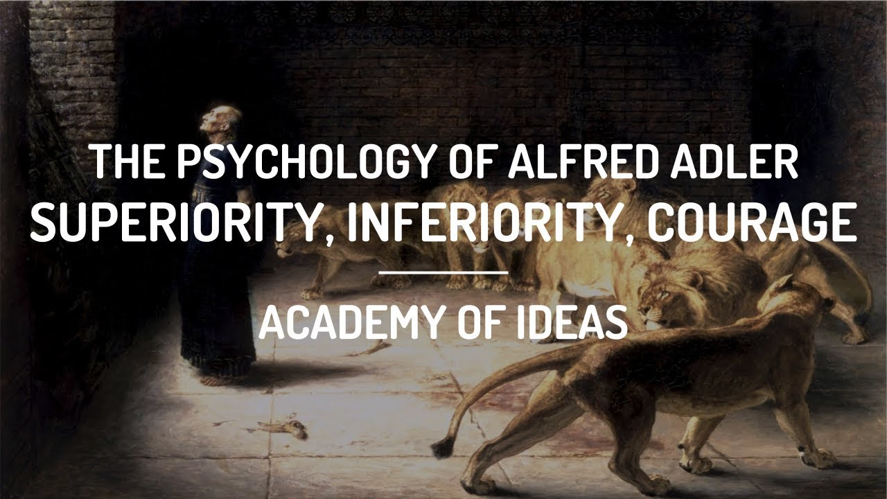 alfred adler inferiority and superiority complex