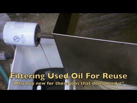 Waste Motor Oil Filter Doovi