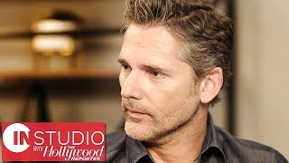Eric Bana on Using Ex-Offenders & a Real Prison for 'The Forgiven' | In Studio With THR
