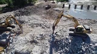 Dam Removal Day 16