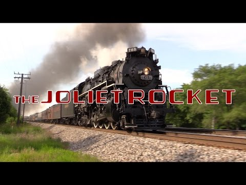 The Joliet Rocket Steam Excursions - June 17th and 18th