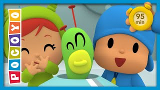👾🎅POCOYO AND NINA - Martian Christmas [95 minutes] | ANIMATED CARTOON for Children | FULL episodes