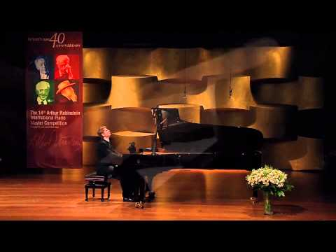 Andrey Gugnin at the 1st stage of the Rubinstein 2014 competition