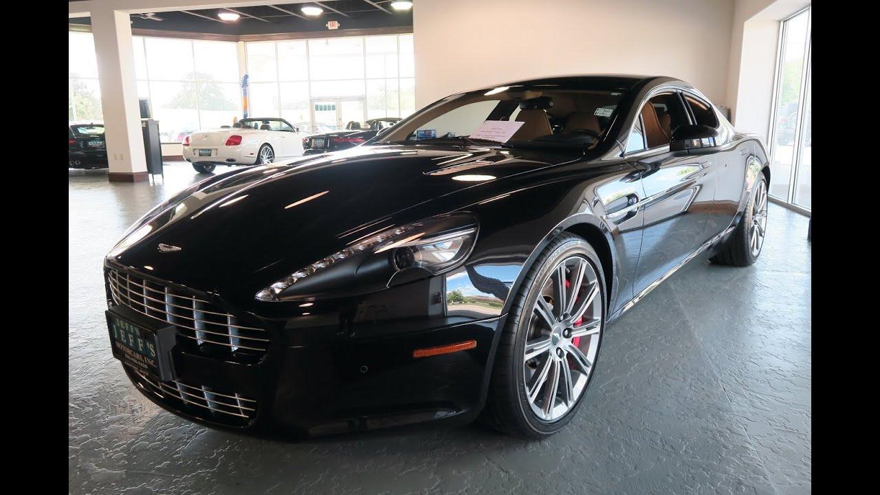 Aston Martin Rapide For Sale In Canton Ohio Jeffs Motorcars - Aston martin rapide for sale