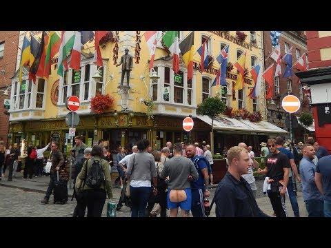 DUBLIN , TEMPLE BAR & Irish Dancers @ The Arlington Hotel Dublin 2017
