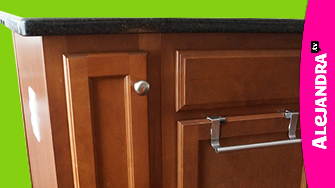 How To Organize A Narrow Kitchen Cabinet   YouTube