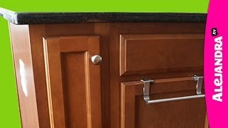How to Organize a Narrow Kitchen Cabinet Thumbnail