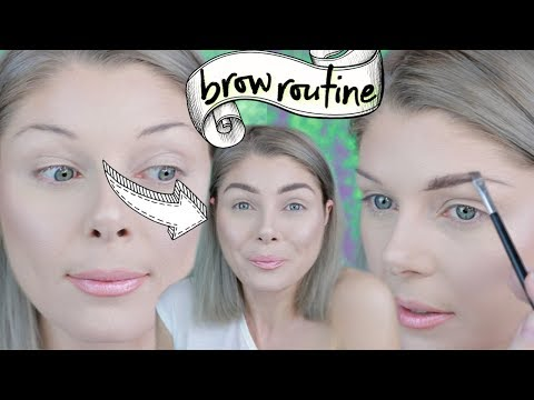 How to: Create Brows From Nothing | My Brow Routine
