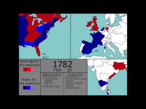 [Wars] The American Revolutionary War (1775-1783): Every Week