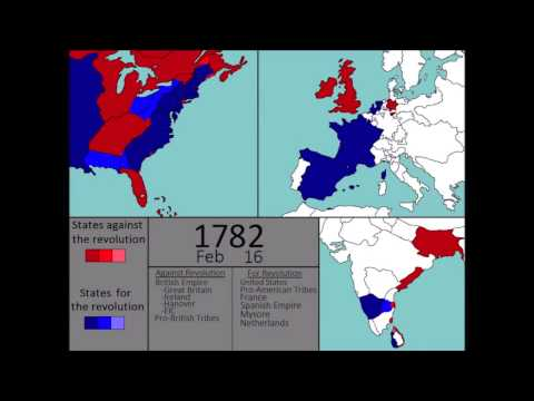 [Wars] The American Revolutionary War (1775-1783): Every Week