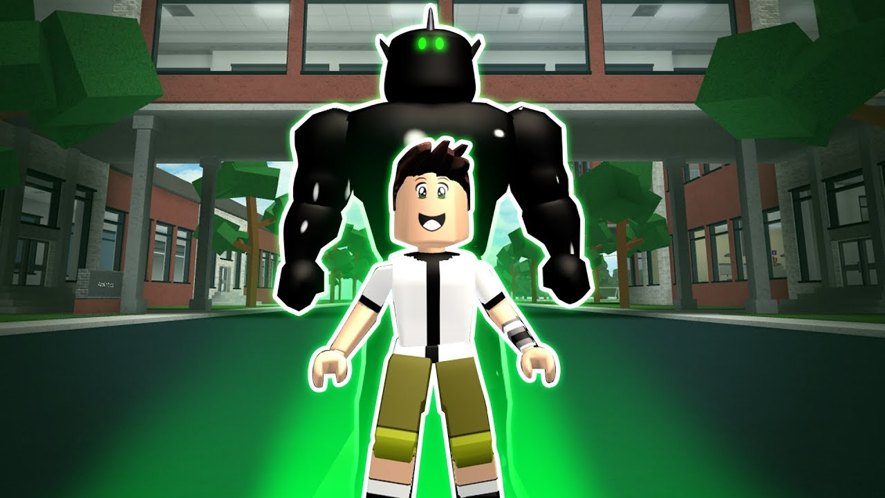 HOW TO BE BEN 10 & ALIEN X IN ROBLOXIAN HIGHSCHOOL!!
