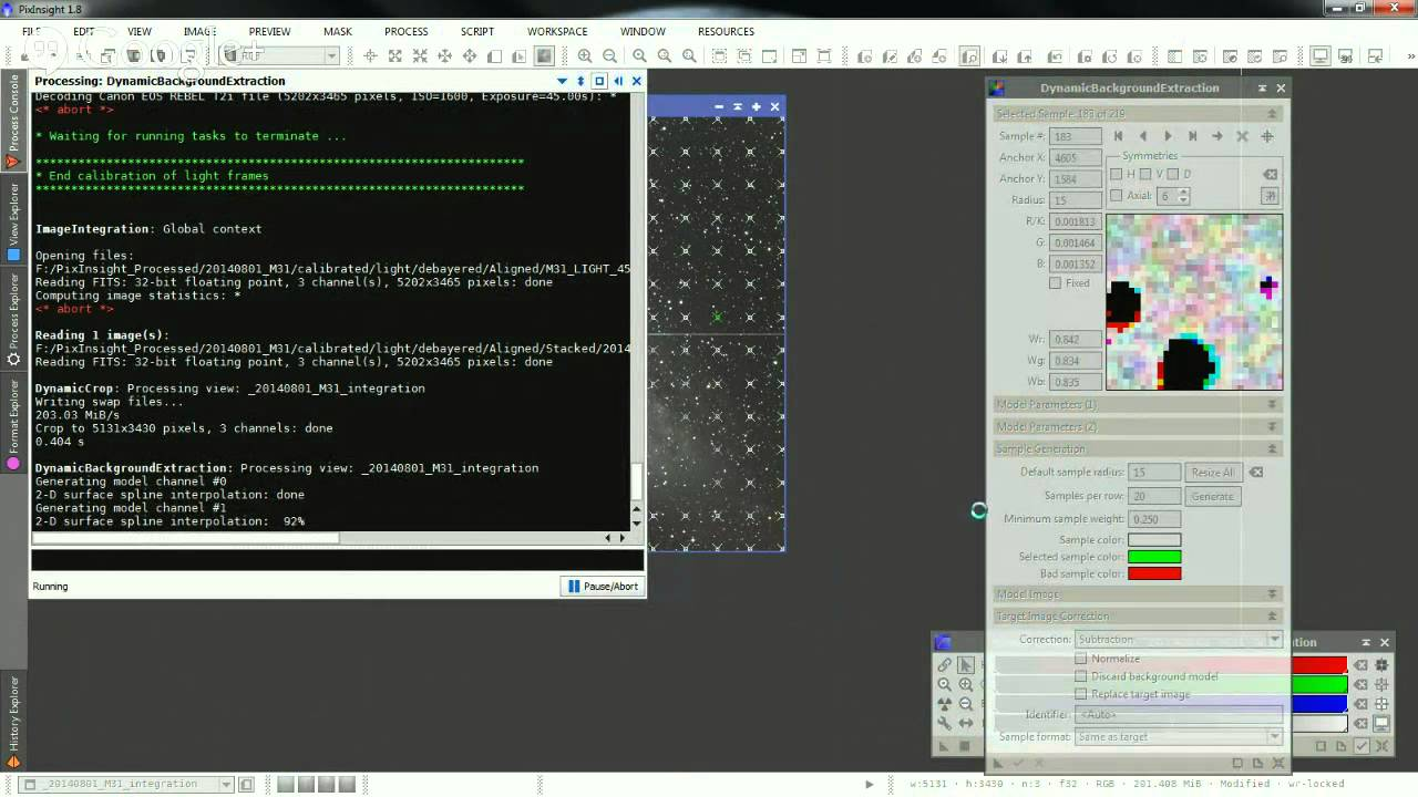 Astrophotography: Processing with PixInsight 1.8 (English) - YouTube