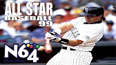 0c7e762e007b All Star Baseball 99 - Nintendo 64 Review - HD - Duration  4 01. N64 Glenn  Plant 6