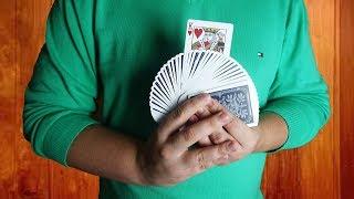 ЭФФЕКТНАЯ ПОДМЕНА КАРТЫ - ФОКУСЫ С КАРТАМИ - ФОКУСЫ ДЛЯ НАЧИНАЮЩИХ И ЛЮБИТЕЛЕЙ