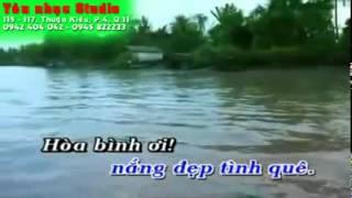 Tinh Em Bien Rong Song Dai Karaoke Quang Le