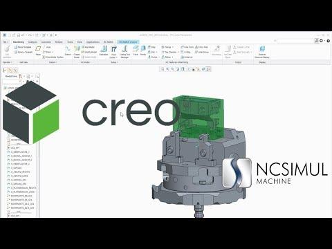 CAD/CAM interface | Creo | NCSIMUL Machine