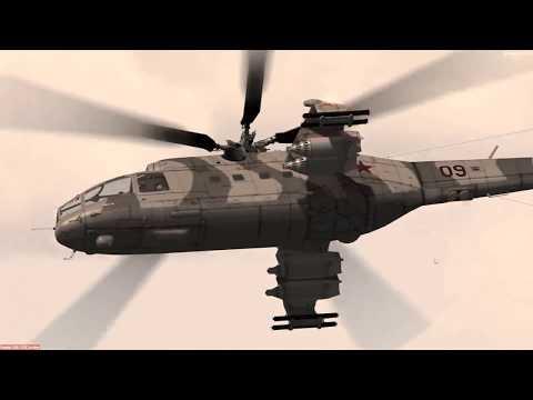 Nemeth Designs Mil Mi-24A (Hind-B) for FSX/P3D