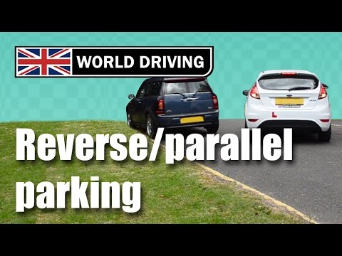How to reverse park (parallel parking). How to do parallel parking.