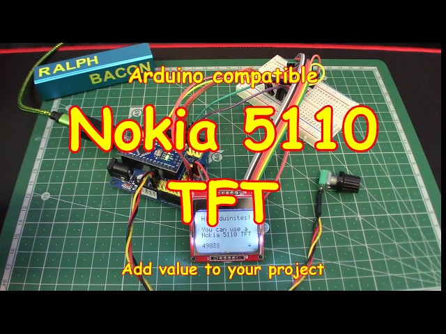 #89 Nokia 5110 TFT Display - Cheap and Easy